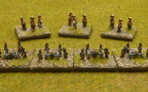 6mm Dutch Belgian army (Baccus miniatures)