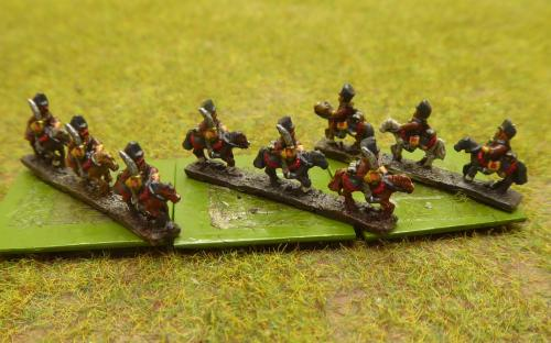 Prussian 4th Hussars (6mm Baccus miniatures)