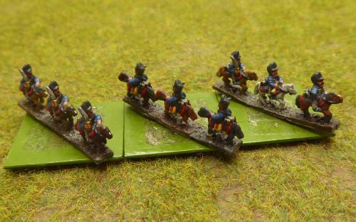Prussian 5th Hussars (6mm Baccus miniatures)