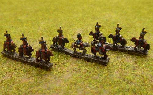 Pussian Uhlans (6mm Baccus miniatures)