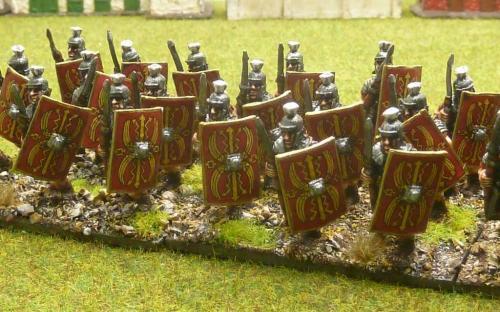 28mm Romans in segmented armour