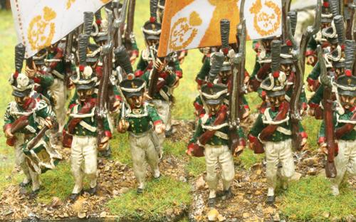 Russian grenadiers (only Kiewer shako available)