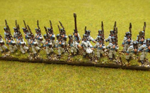 15mm Saxon Line infantry (Blue moon miniatures)