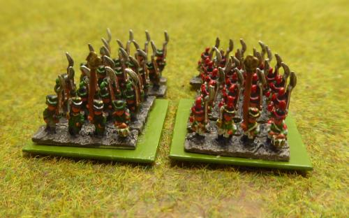 6mm Saxon light infantry and Grenadier