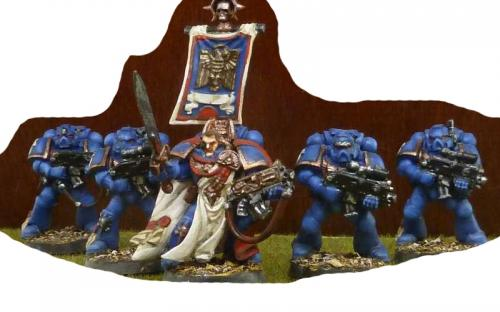 Ultramarines Captain