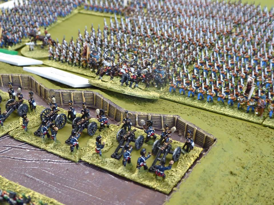 10mm Napoleonic figures which we have painted. We have a limited stock.