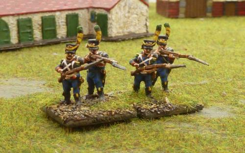 02 Early French light infantry