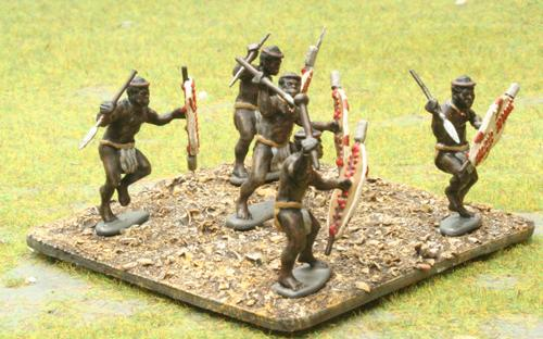 03 Married White Shield - Isangqu Regiment