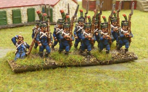 04 French light infantry chasseurs
