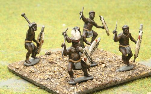 04 Married White Shield - Uthluwana Regiment