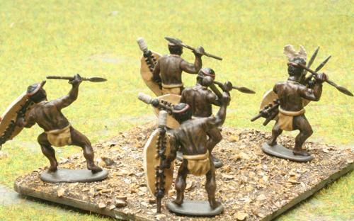 05 Unmarried Black Shield - Indluqengwe Regiment