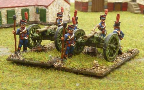 06 Early French horse artillery
