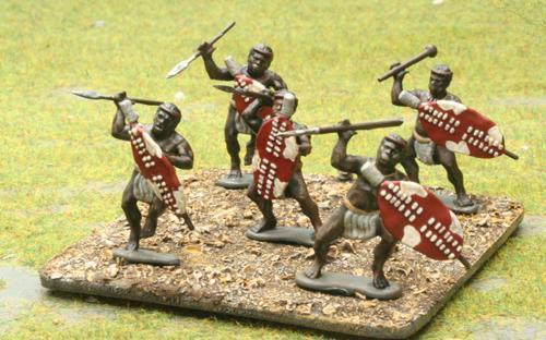 06 Married Red Shield - Indlondo Regiment