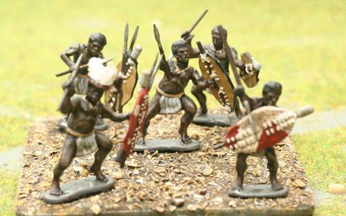 07 Unmarried Mixed Shield - Ingobamakosi Regiment