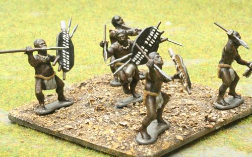 08 Unmarried Black Shield - Unokhenke Regiment