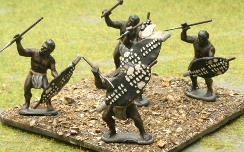 10 Unmarried Black Shield - Udududa Regiment