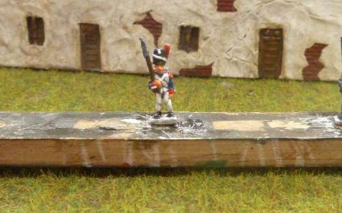 10mm Old Guard Grenadier inked + highlighted (x3 work)