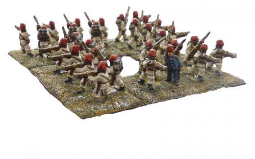 10mm Sudan Egyptian infantry