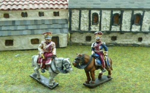 French Imperial Polish Lancers of the Guard