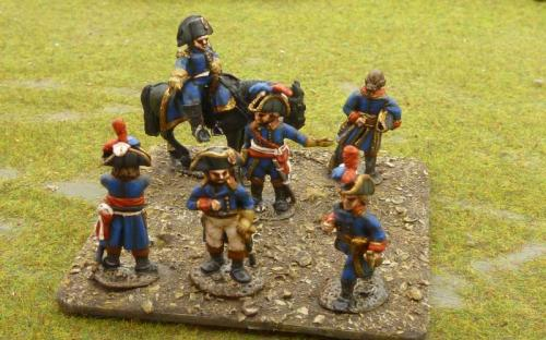 11 French Revolutionary officers (M)