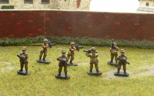 15mm Armed security