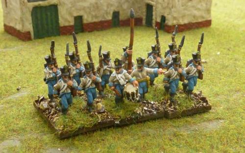 15mm Austrian (Hungarian) infantry