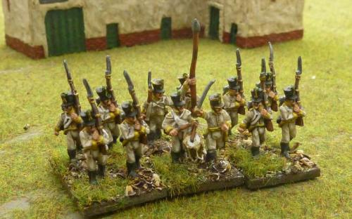 15mm Austrian infantry