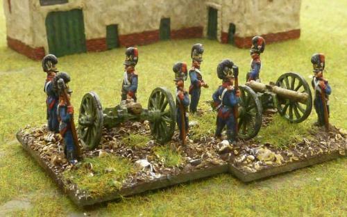 15mm Bavarian artillery