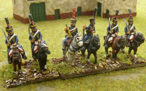 15mm French 11th Hussars