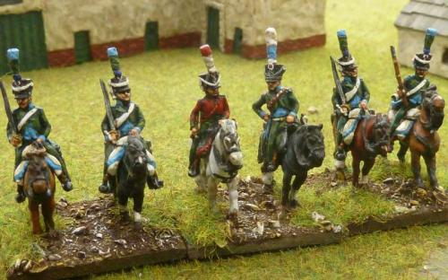 15mm French 16th Chasseurs a Cheval
