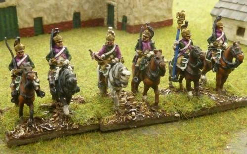 15mm French 16th Dragoons