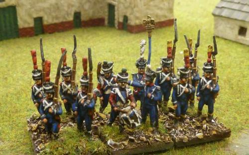 15mm French 1st Light infantry