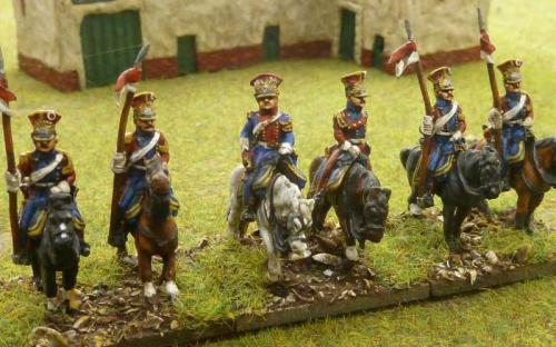 15mm French Dutch Red Lancers