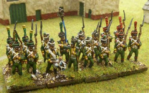 15mm French Foreign Regiment Irish Legion