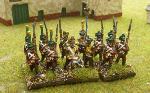 15mm French Foreign Regiment Tirialleurs Course