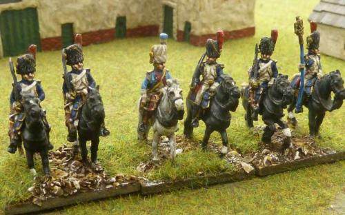 15mm French Grenadiers a Cheval