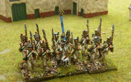 15mm French Legion de Midi