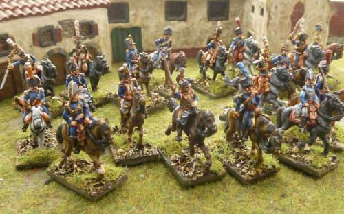 15mm French Napoleonic Marshals, Aids, Napoleon and Staff
