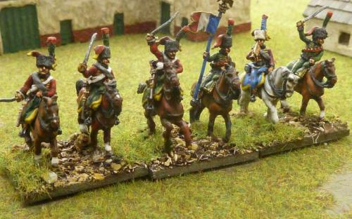 15mm French Old Guard Chasseurs a Cheval