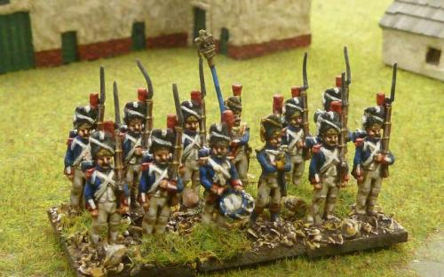 15mm French Old Guard Grenadiers