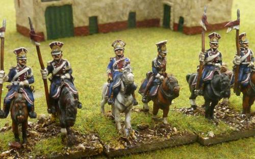 15mm French Polish Lancers