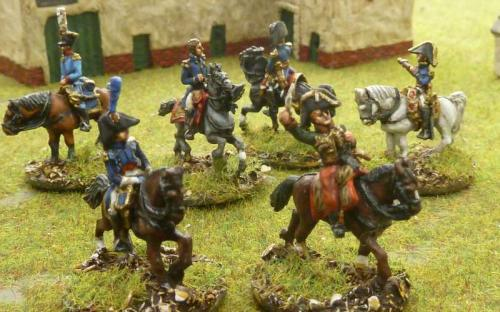 15mm French and Allied Generals, staff and ADCs