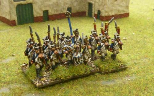 15mm French line infantry