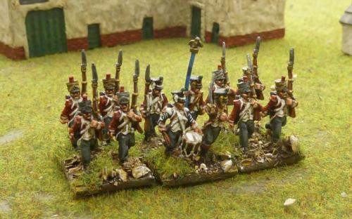 15mm Hessian Crown Princess infantry
