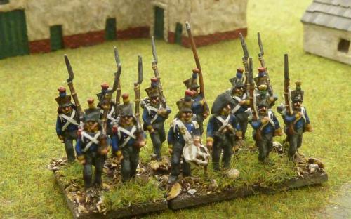 15mm Hessian line infantry