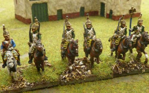 15mm Imperial Guard Empress Dragoons