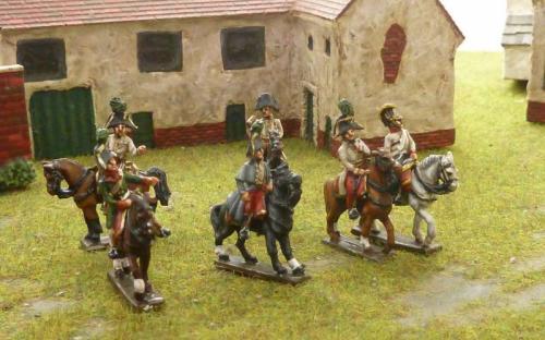 15mm Napoleonic Austrian Generals and ADCs
