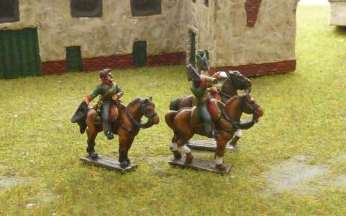 15mm Napoleonic Austrian Generals