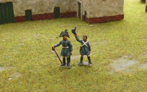 15mm Napoleonic Austrian officers