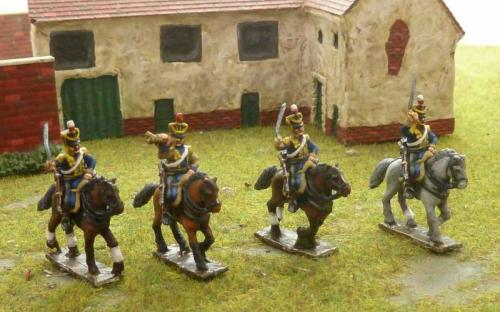 15mm Napoleonic British 13th Light Dragoons
